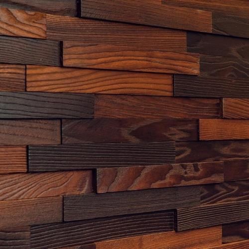 Мозаика и 3D панели из дерева Tarsi Астра Термо