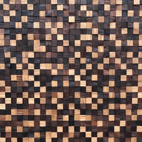 Мозаика и 3D панели из дерева Tarsi Капа Микс