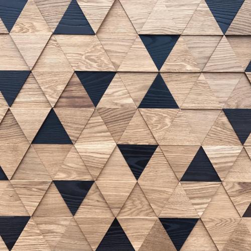 Мозаика и 3D панели из дерева Tarsi Трой Микс