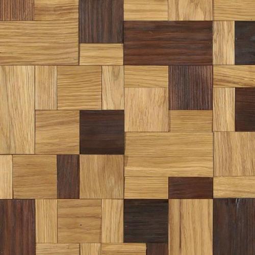 Мозаика и 3D панели из дерева Tarsi Хауз Микс