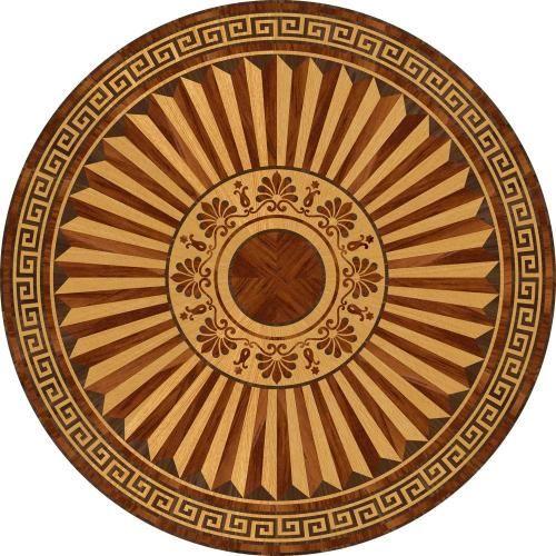 Художественный паркет Da Vinci Розетка 26-004 шлифованная под лакировку на объекте