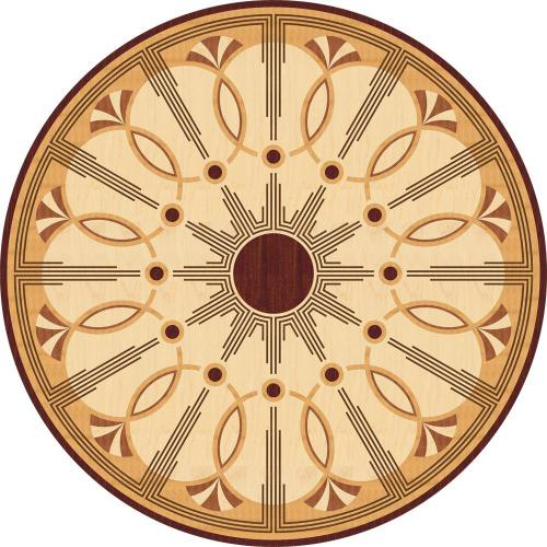 Художественный паркет Da Vinci Розетка 26-047